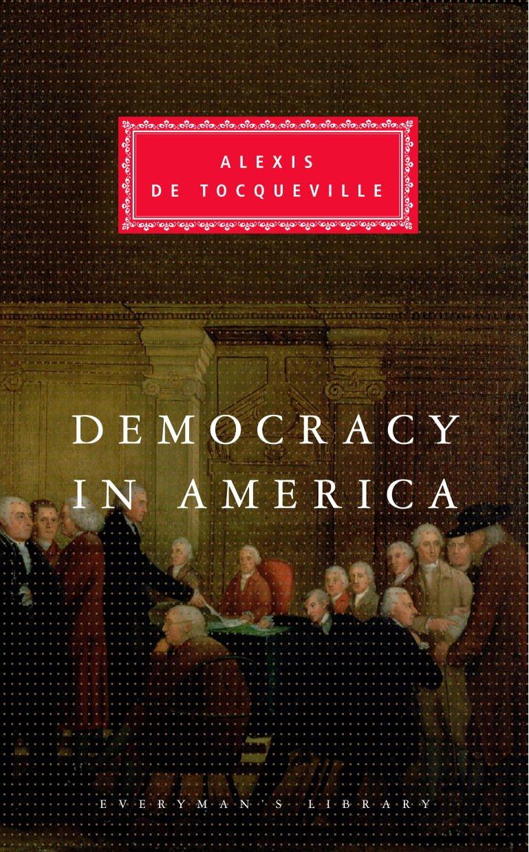 Democracy America Everymans Library Tocqueville
