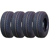 $189 » Set of 4 New Premium Trailer Tires ST 175/80R13 6PR Load Range C- 11125