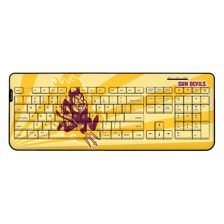 Arizona State Sun Devils Wireless USB Keyboard NCAA by Keyscaper