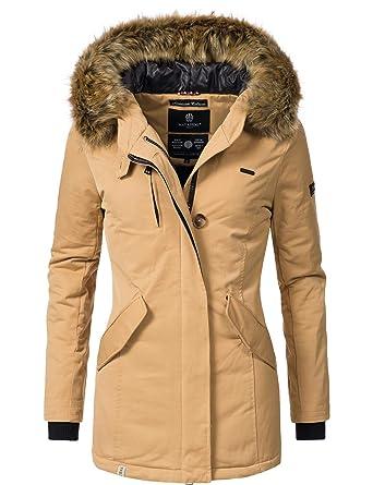 Navahoo Damen Winterjacke Wintermantel Nisam 10 Farben XS-XXL  Amazon.de   Bekleidung 1601127f39