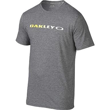 aaf338c4a Oakley Men's O-Original T-Shirt, Athletic Heather Grey Small