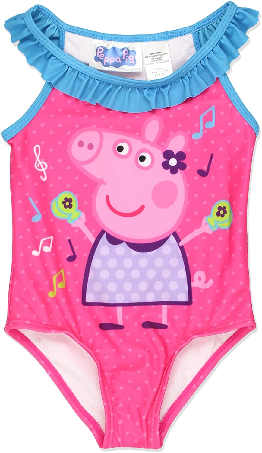Lovely Girls yd peppa pig Swimming Costume Age 2-3 Years