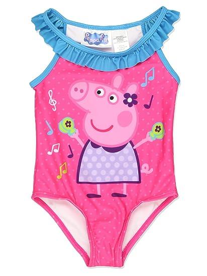 9e97d8adedde9 Amazon.com: Peppa Pig Girls Swimwear Swimsuit (2T, Pink): Clothing