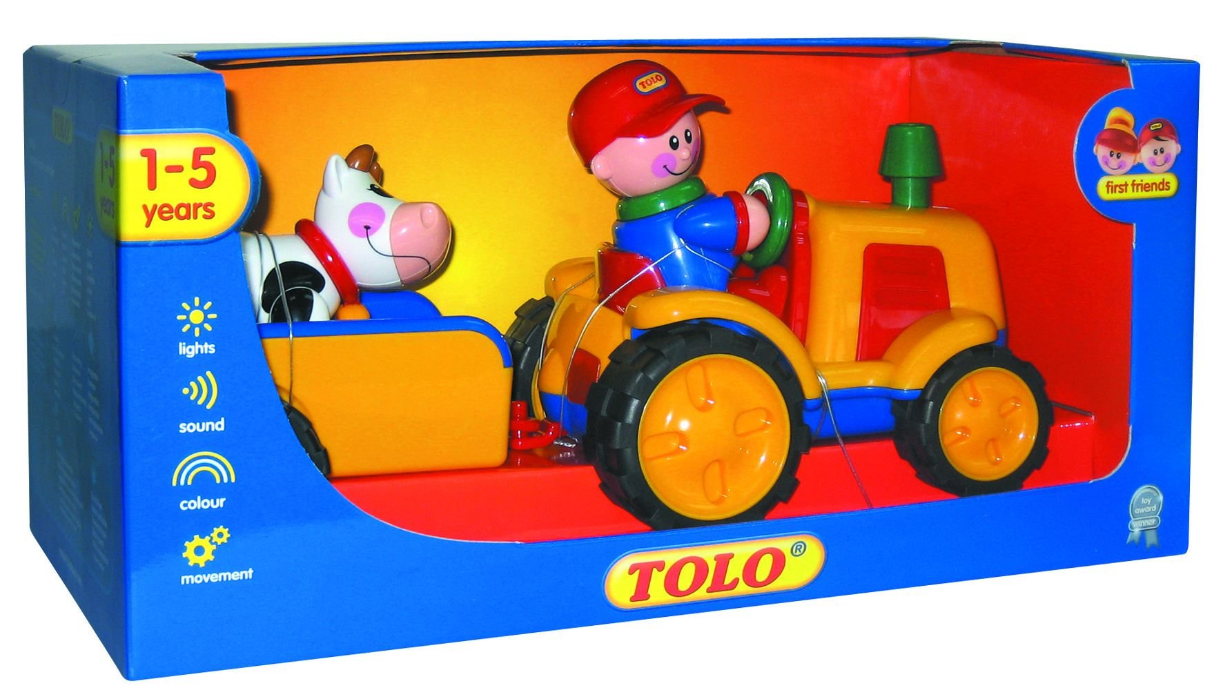 Tolo Toys First Friends Tractor Trailer
