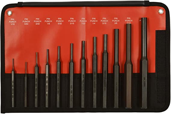 Silverline Nail Punch Set 3pce 127mm Woodwork DIY Tool
