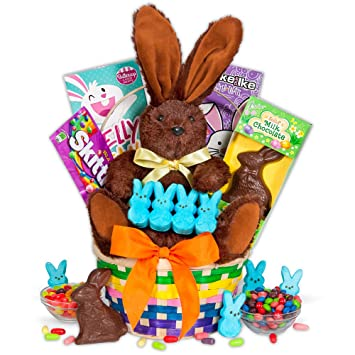 Amazon classic easter basket gourmet candy gifts grocery classic easter basket negle