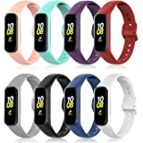 Sunnyson Replacement Bands Compatible with Samsung Galaxy Fit2 SM-R220,Breathable Silicone Bands Compatible with Galaxy Fit2.