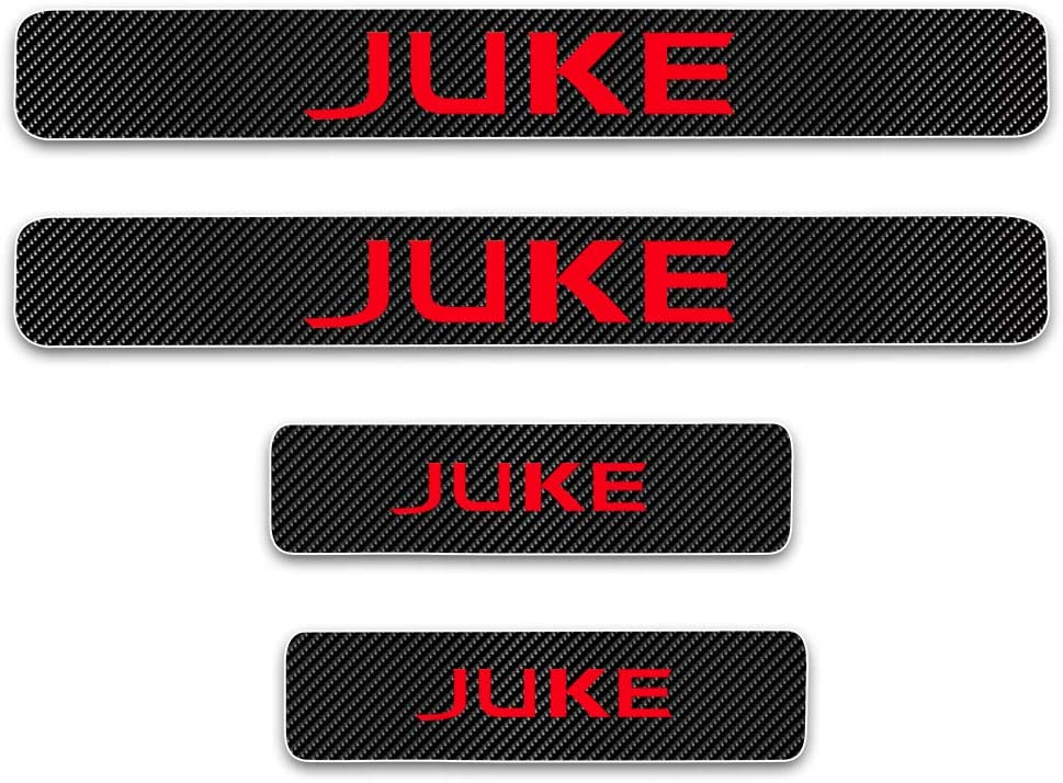 Fit for Nissan Juke LUVCARPB Car Door Sill Threshold Stickers Decals Accessories