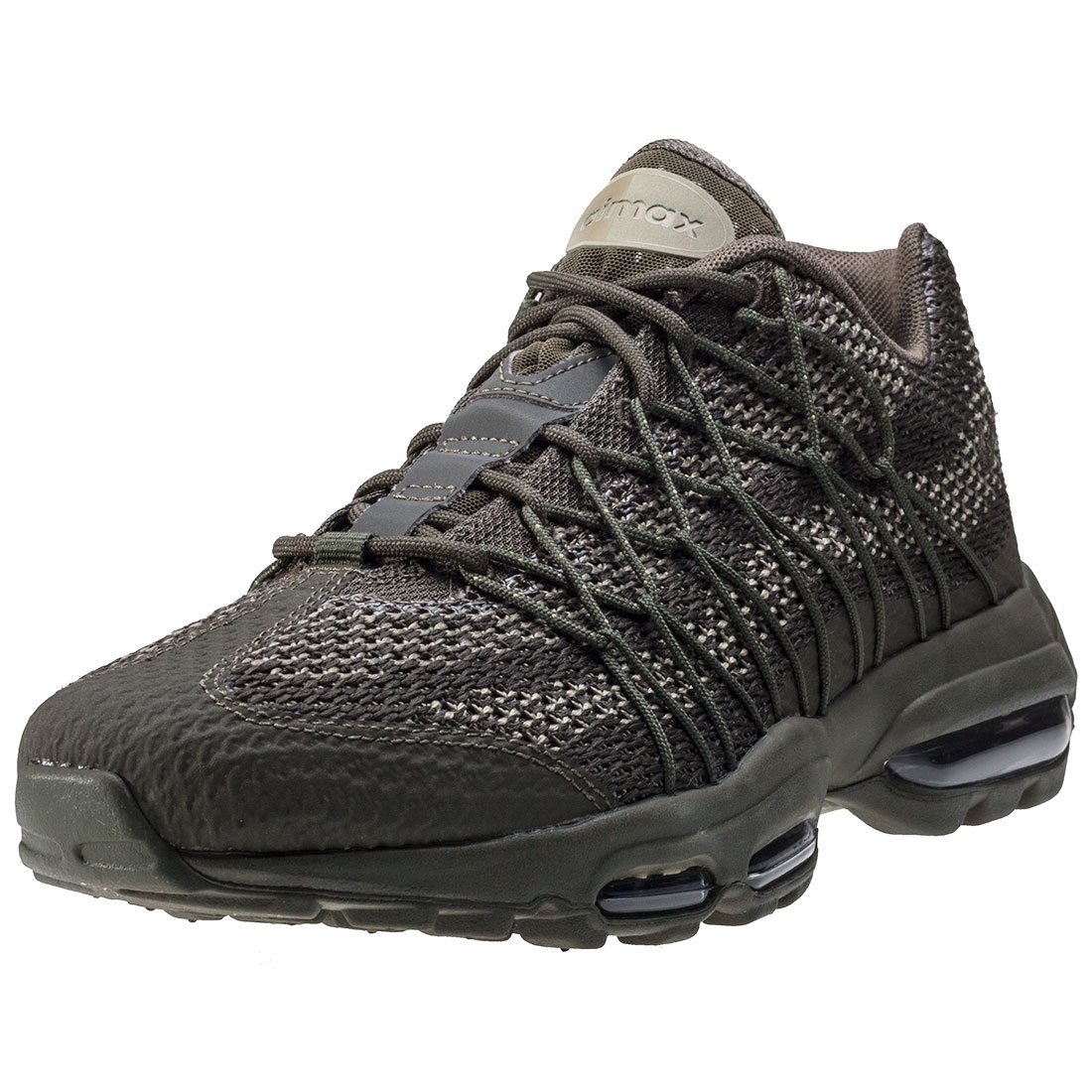 c00c7ce0a9 Nike Air Max 95 Ultra Jacquard Mens Trainers Khaki - 8.5 UK: Amazon.co.uk:  Shoes & Bags