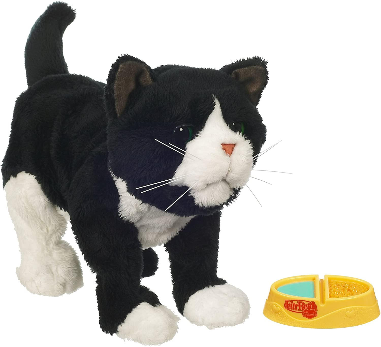 Amazon Com Furreal Newborn Tuxedo Kitten Toys Games