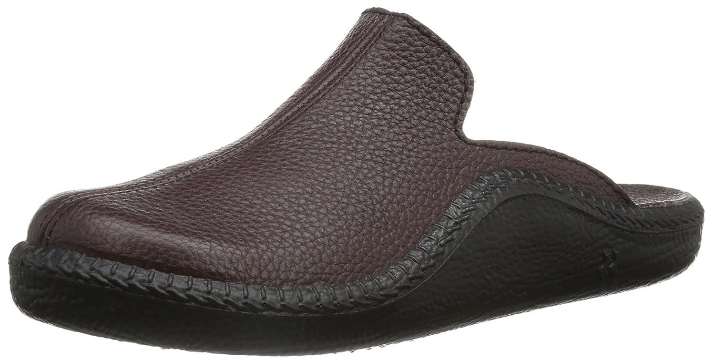 Romika Men's Mokasso 202 Dark Brown Leather Slippers Mokasso 202 G