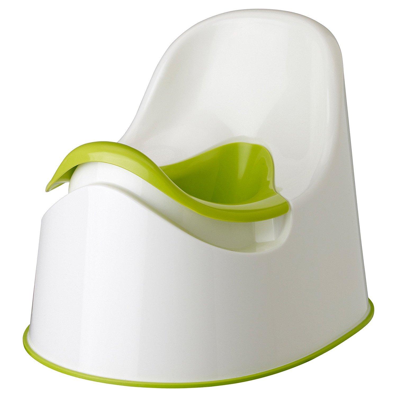 green IKEA LOCKIG green white Children-s potty