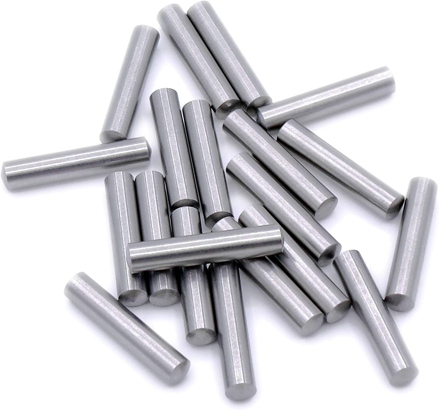 8mm Metric Solid Dowel Pin Rod Position Pins A2 304 Stainless Steel M8
