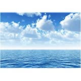 Smartdeco 400 x 280 cm Paper Mural with Glue, Pack of 1, Silent Ocean