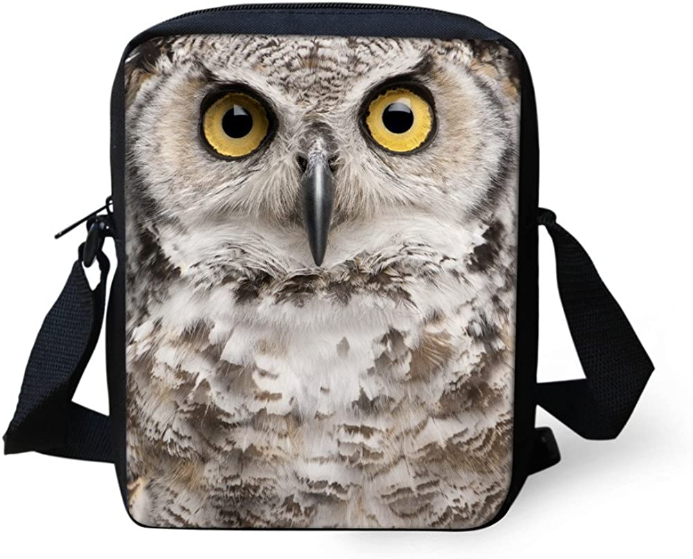 Bigcardesigns Unisex Animal Sling Satchel Crossbody Messenger Bag