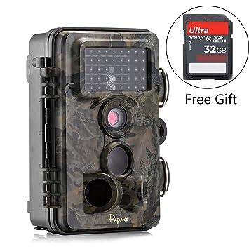 Amazon.com: Trail Camera, Papake 1080P HD Wildlife Camera 12 MP ...