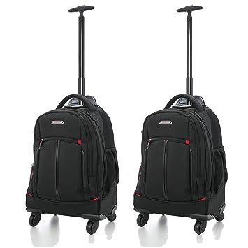 """Aerolite 21""""/ 55cm Trolley Mochila Equipaje Cabina Laptop Bolso - Aprobado para Ryanair,"""