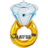 "CharmTM Huge 30"" Engagement Diamond Ring Balloon Wedding Proposal Party Decoration Bride Bachelorette"