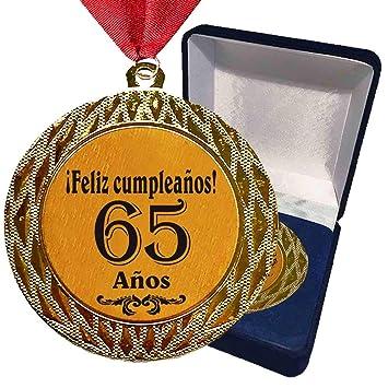 Larius Group La Medalla con Texto estandarizado 65 años ...