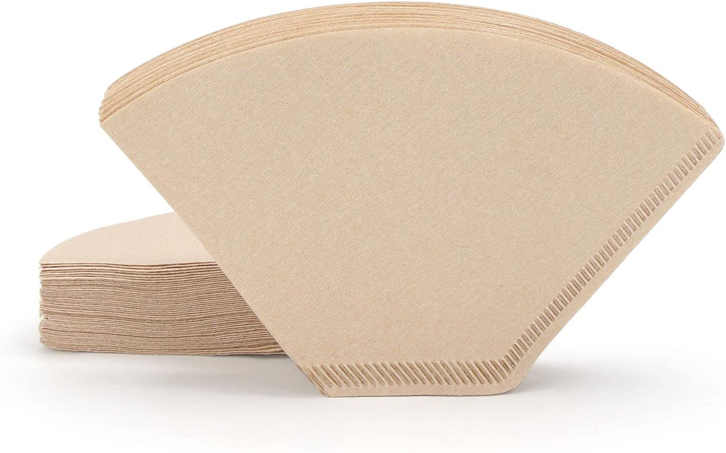 #1 Cone Coffee Filters, Segarty 200 Count Natural Unbleached Brown Paper Coffee Filter