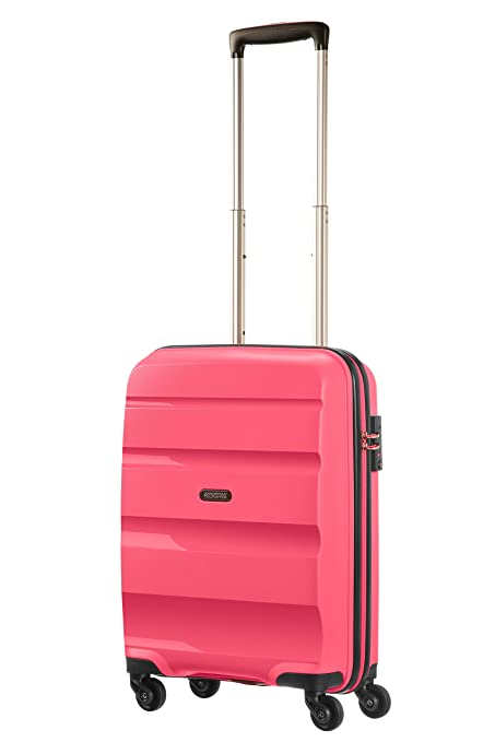 American Tourister - Bon Air - Spinner Equipaje de mano 55 cm, 32 L, Rosa (Fresh Pink)
