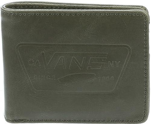 50a775e473 Portafoglio VANS Full Patch Bifold Wallet - Olive: Amazon.it: Scarpe ...