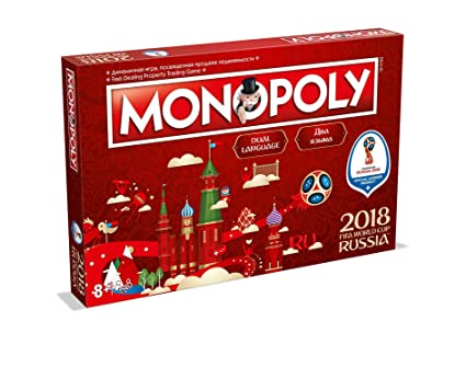 f21c73a12f FIFA World Cup Monopoly Board Game  Amazon.co.uk  Toys   Games