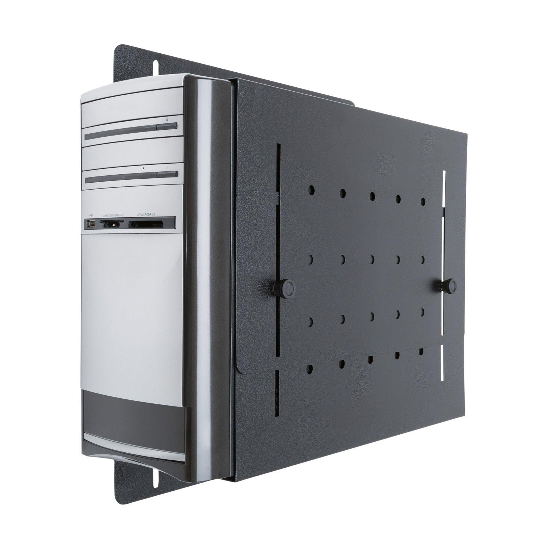 Small Form Factor CPU Heavy-Duty 14-Gauge Steel Wall Mount Bracket