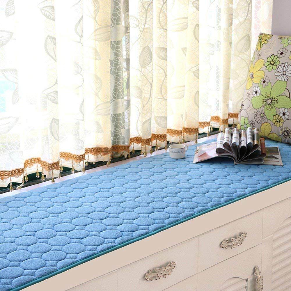FEI Colchonetas de péndulo Modernas Simples Colchonetas de Ventana Balcón de Esponja de Verano Colchones Cubo Flotante, Multi-Tamaño,60 * 160 cm Multi-Tamaño