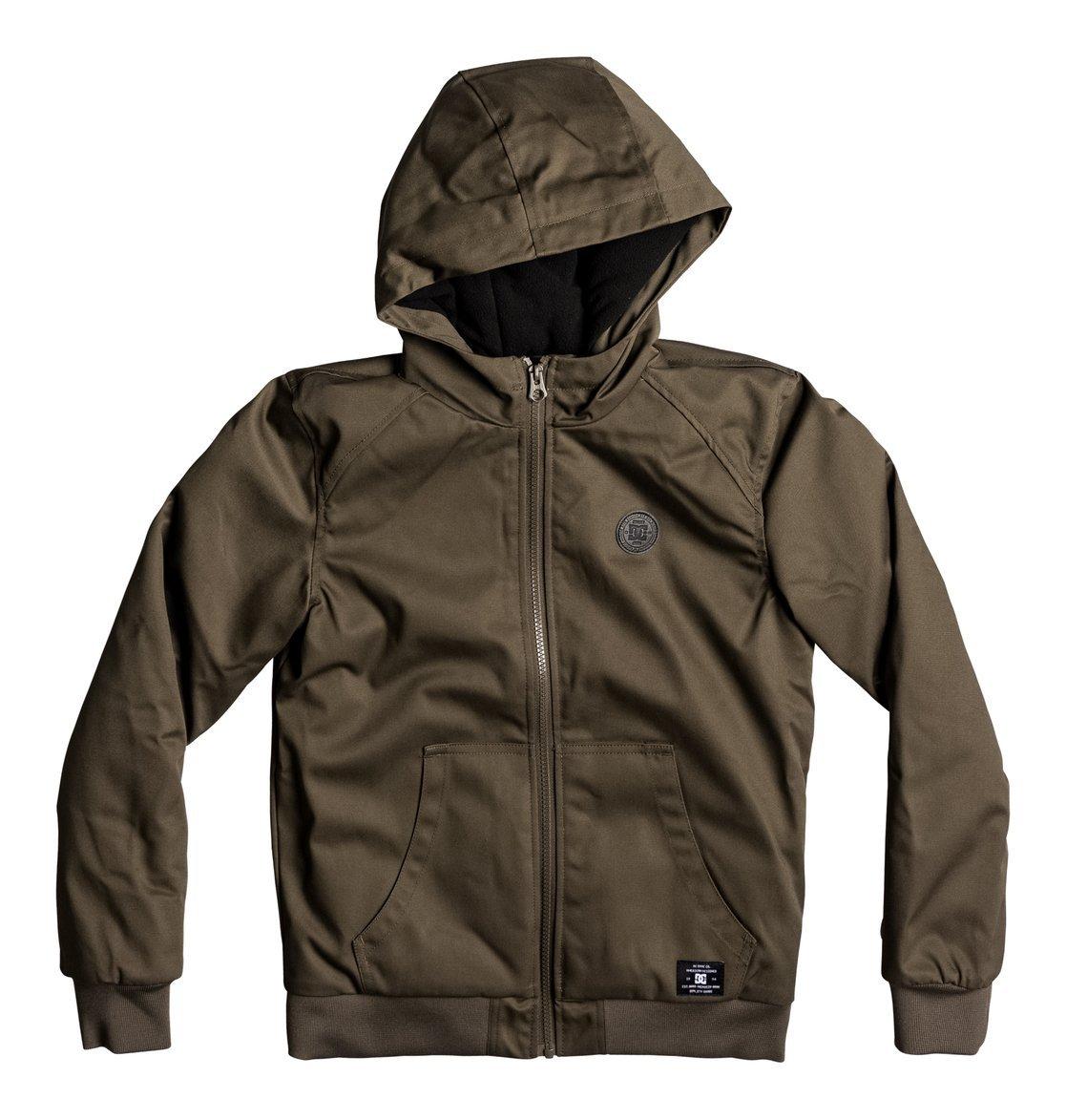 DC Shoes Boy's Ellis Jacket 4Boy Hooded Rain Jacket, boys, ELLIS JACKET 4 BOY DCSA3|#DC Shoes EDBJK03022