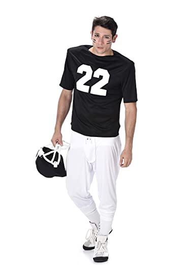 Football Player Halloween Costume.Men S Football Player Costume For Halloween Party Accessory Medium Amazon In Clothing Accessories