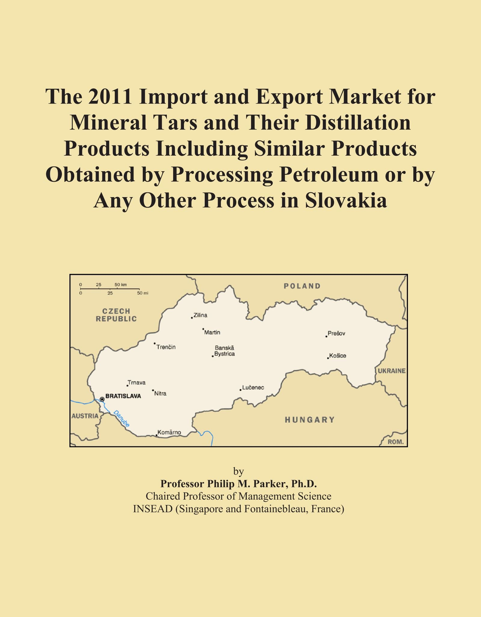 Download The 2011 Import and Export Market for Mineral Tars and Their Distillation Products Including Similar Products Obtained by Processing Petroleum or by Any Other Process in Slovakia pdf epub