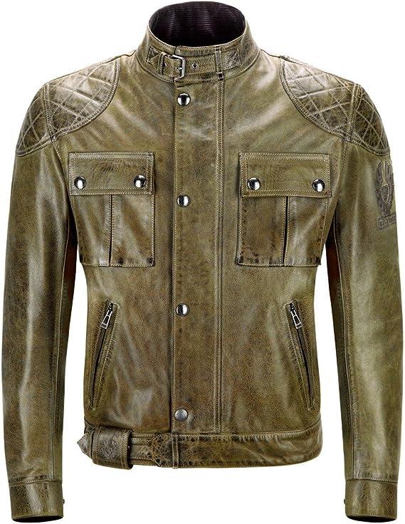 chaqueta classica para moto
