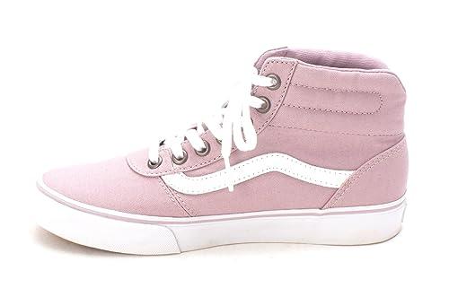 760cbfe1cfb7d7 Vans Womens Milton Hi Hight Top Lace Up Fashion Sneakers