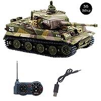 Vehículos militares RC de juguete para niños