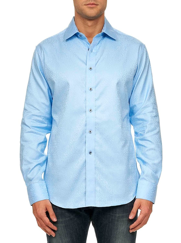 Robert Graham Men's Windsor Classic Fit Long Sleeve Shirt RF121191CF
