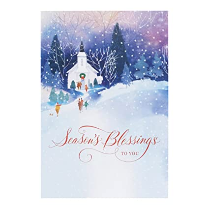 Dayspring Christmas Cards.Amazon Com Dayspring Christmas Boxed Cards Blessings To