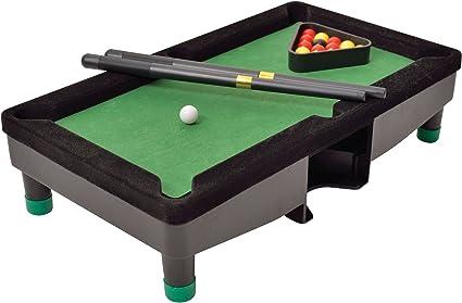 Amazon.com: Perfect Life Ideas Desktop Miniature Pool Table Set ...