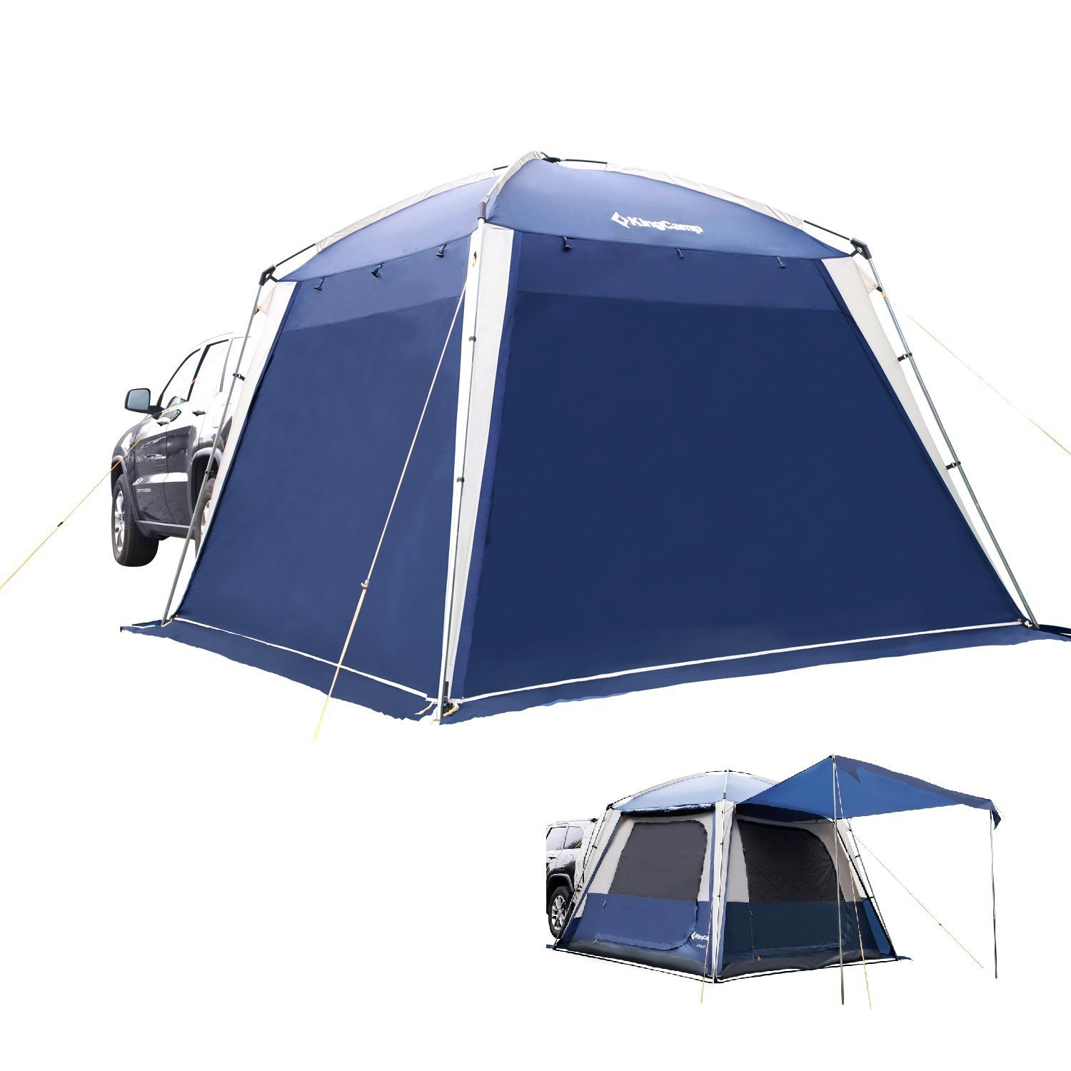Kingcamp Versatile Room Waterproof Fire Resistant Breathable Suv 3 Season Camping Tent For 5 People Buy Online In Dominica At Dominica Desertcart Com Productid 207016115