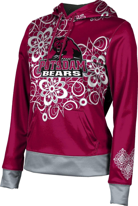 State University of New York at Potsdam Girls Pullover Hoodie Foxy School Spirit Sweatshirt