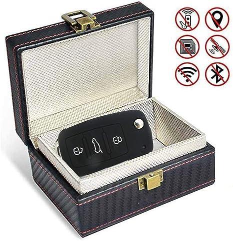 Keyless Go Schutz Autoschlüssel Box Autoschlüssel Schutz Funkschlüssel Abschirmung Auto Blocker Auto Schlüsselbox Autoschlüssel Schlüsselhülle Car Key Safe Signalblockierungs Rfid Küche Haushalt