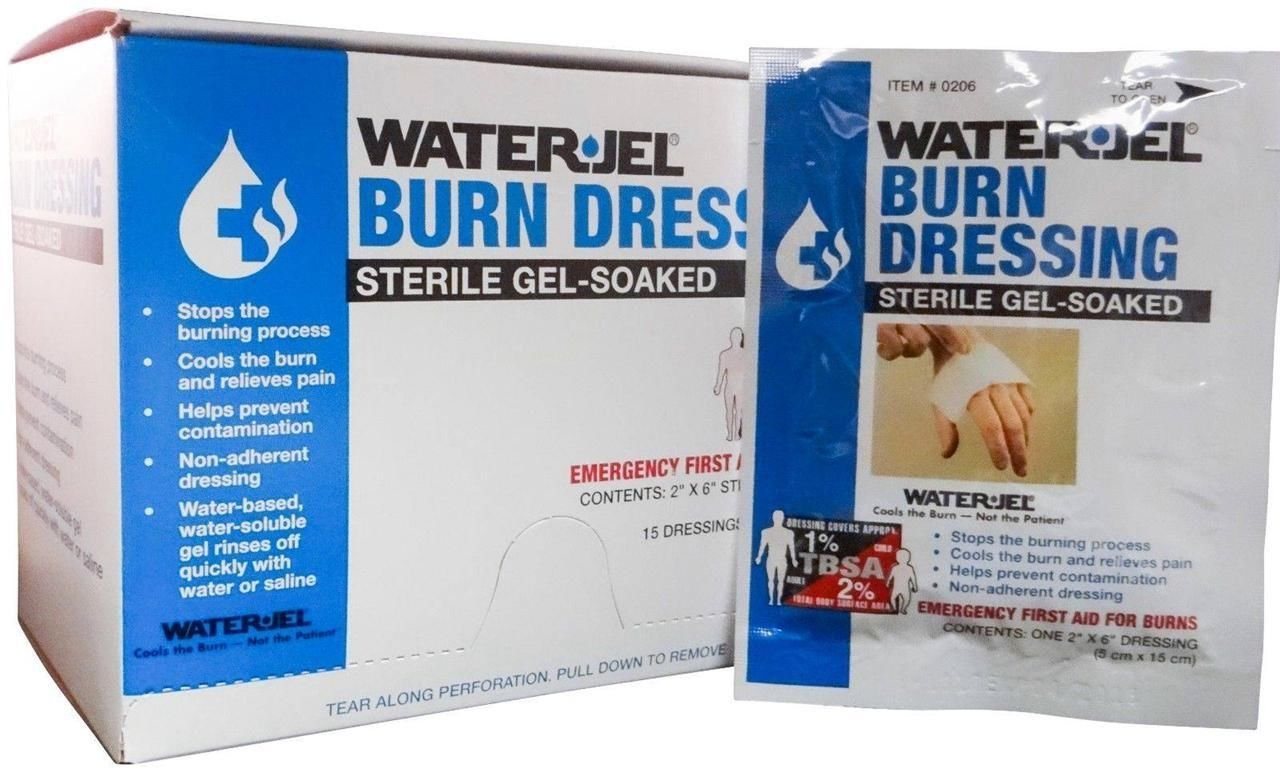 WATER-JEL - Burn Dressing - 2'' x 6'' - MS46210 (60 each)