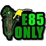 E 85 Only Decal E85 Sticker Gas cap Ethanol Alcohol Race Tuned pump gasoline GT