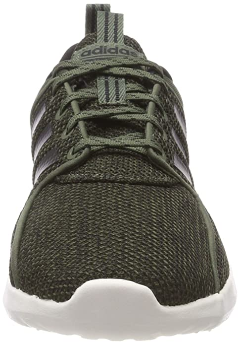online store 66227 0f6ef adidas Mens Cloudfoam Lite Racer Training Shoes, Green CblackBasgrn, 12.5  UK Amazon.co.uk Shoes  Bags