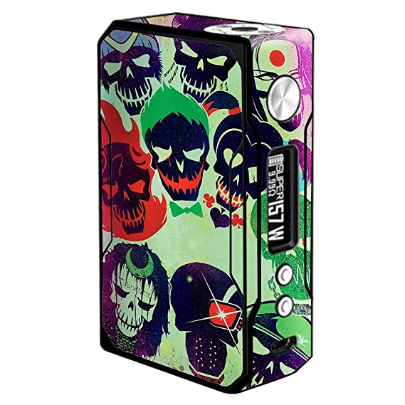 Amazon com: Skin Decal Vinyl Wrap for Voopoo Drag 157W TC
