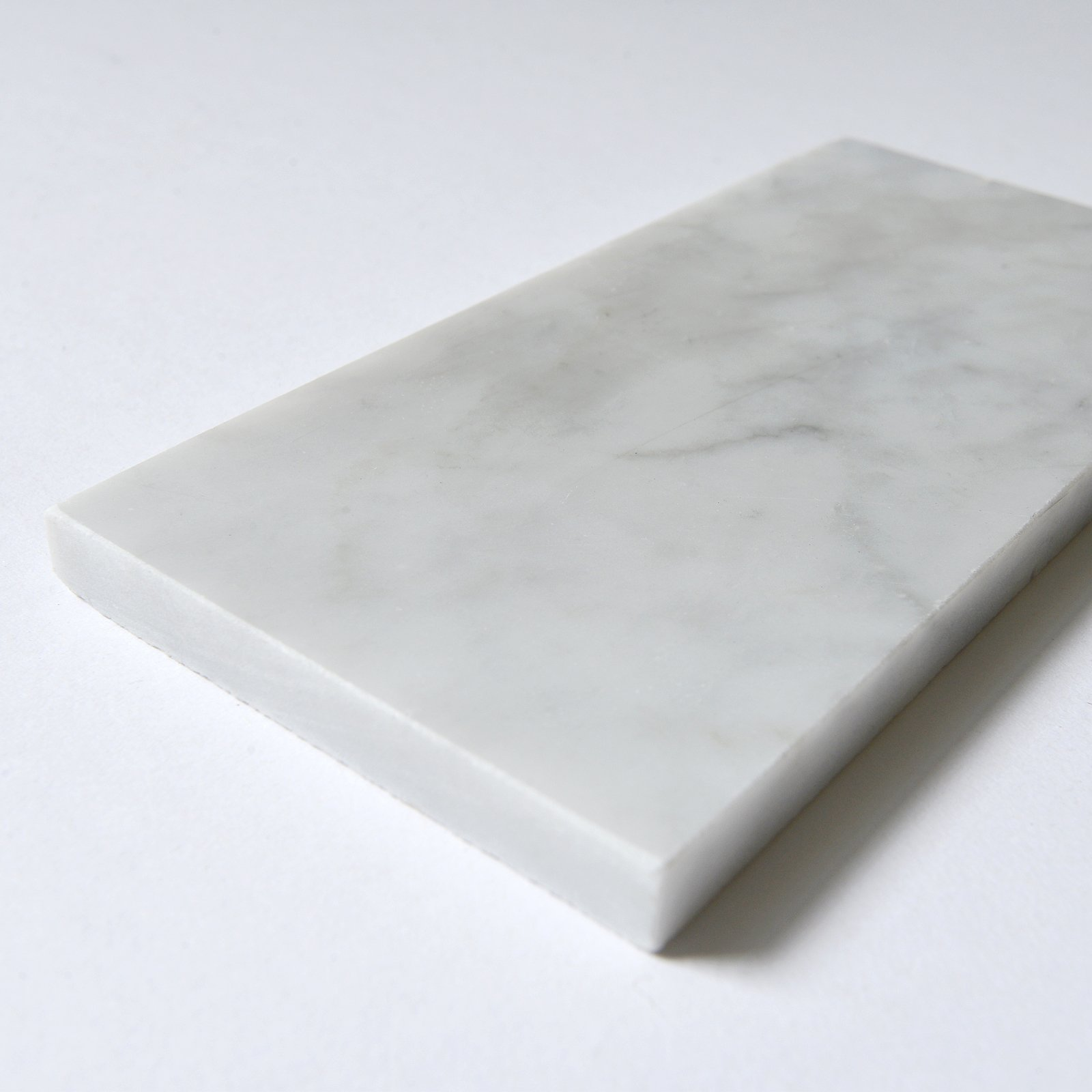 Carrara White Marble Field Tile, CWMT0306, 3''X6'' Subway Tile, Polished (Box of 40 Pieces) by CWM