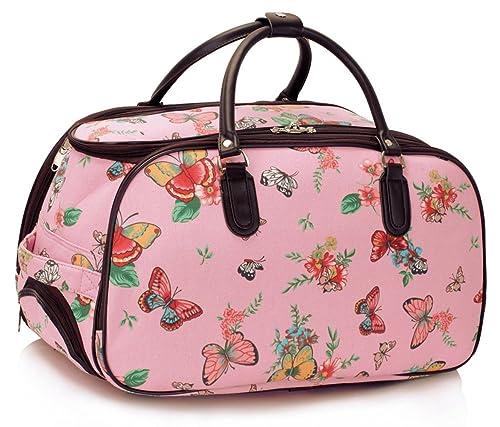 LeahWard® LeahWard Bolsa Mariposa Equipaje Bolsas de viaje Mujeres Bolso de mano Equipaje Fin de