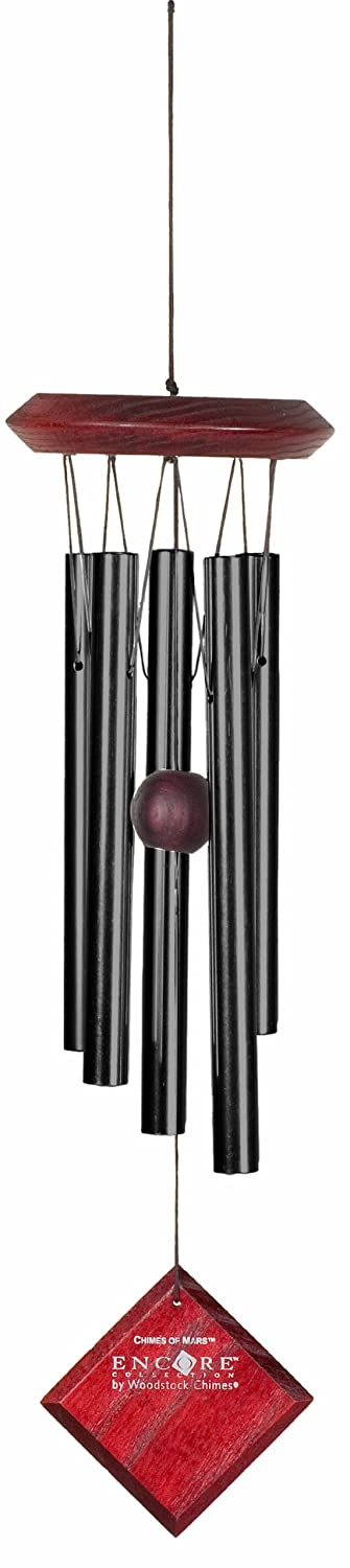 Woodstock Chimes Encore Collection Black Chimes of Mars Windchime DCK17