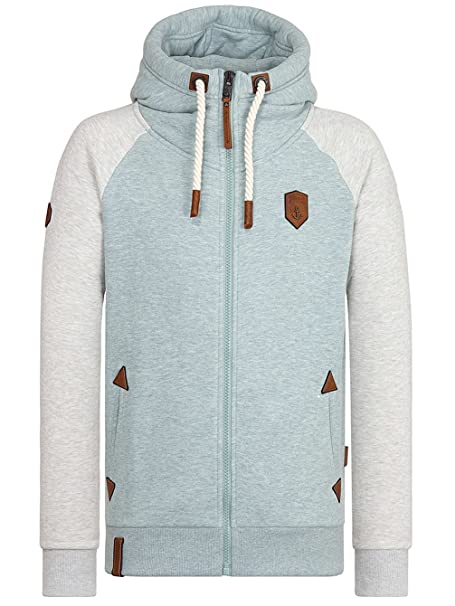 NAKETANO HERREN SWEATJACKE Fucking for Freedom Hoodie Jacke