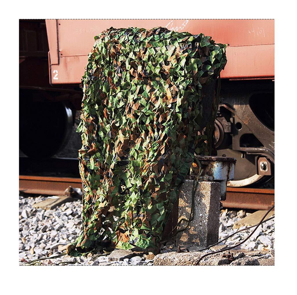 SJMWZW Woodland Tarnnetz, Tarnnetz, verschlüsseltes Sonnenschutznetz, geeignet für die Begrünung und dekorative Dschungeljagd, erhältlich in Verschiedenen Größen (Farbe   B, größe   4  6m)